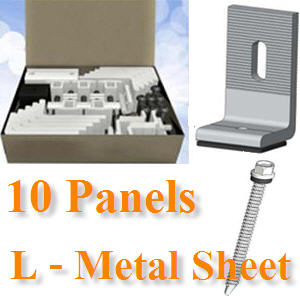 ªØ´µÔ´µÑé§ 10 ἧµÔ´¡Ñ¹ à¨ÒÐËÅѧ¤ÒàÁ·ÑŪշ ¢ÒÂÖ´µÑÇ L10-Panels, L‐Bracket mounts directly onto metal
