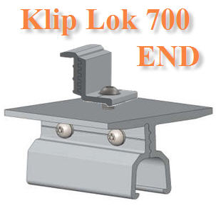 µÑÇÂÖ´ËÅѧ¤Ò àÁ·ÑŪշ Klip-Lok 700  End ClampMetal Roof Klip-Lok 700 Bracket  End Clamp