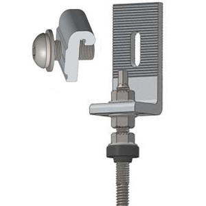 µÑÇÂÖ´ËÅѧ¤Ò ¡ÃÐàº×éͧÅ͹¤Ùè M10x200mm.Hanger Bolt with L-Bracket M10x200mm.
