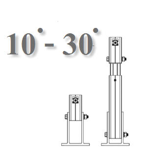 10-30 ͧÈÒ, ¢ÒÂÖ´ÃÒ§»ÃѺͧÈÒ10-30 deg, ADJUSTABLE TILT KIT