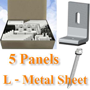 ªØ´µÔ´µÑé§ 5 ἧµÔ´¡Ñ¹ à¨ÒÐËÅѧ¤ÒàÁ·ÑŪշ ¢ÒÂÖ´µÑÇ L5-Panels, L‐Bracket mounts directly onto metal