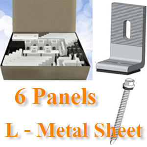 ªØ´µÔ´µÑé§ 6 ἧµÔ´¡Ñ¹ à¨ÒÐËÅѧ¤ÒàÁ·ÑŪշ ¢ÒÂÖ´µÑÇ L6-Panels, L‐Bracket mounts directly onto metal