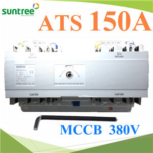 4P ATS 150A àºÃ¡à¡ÍÃìÊÇÔ·ªì 2 ·Ò§ AC ÊÅѺä¿Íѵâ¹ÁÑµÔ Automatic transfer switch4P 150A MCCB type Dual Power Automatic transfer switch ATS