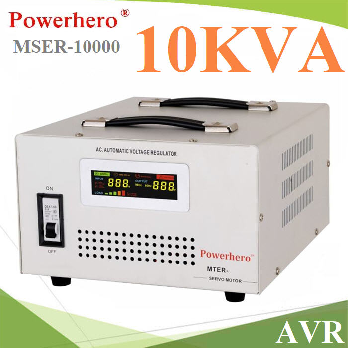AVR Stabilizer à¤Ã×èͧ»ÃѺáç´Ñ¹ä¿¿éÒ áººÍѵâ¹ÁÑµÔ  á¡é»Ñ­ËÒáç´Ñ¹ä¿µ¡ 10KVA AVR 10000VA Automatic Voltage Regulator Stabilizer Single Phase with toroidal transformer