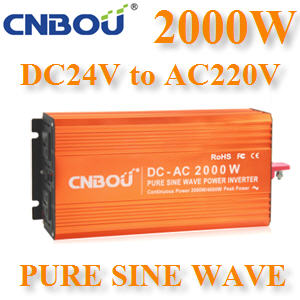 ÍÔ¹àÇÍÃìàµÍÃì 2000W Off-Grid Pure sine wave 24V DC to AC 1 à¿Ê2000W Pure Sine Wave Inverter 24V DC to AC 1 Phase