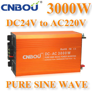 ÍÔ¹àÇÍÃìàµÍÃì 3000W Off-Grid Pure sine wave 24V DC to AC 1 à¿Ê3000W Pure Sine Wave Inverter 24V DC to AC 1 Phase