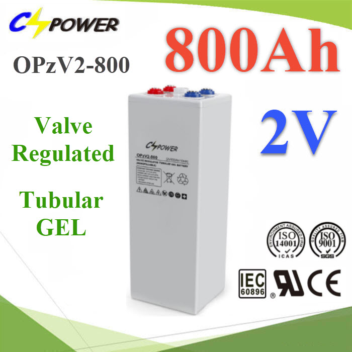 ẵàµÍÃÕè Tubular GEL battery OPzV 2V 800Ah (ÊÑ觼ÅÔµµÒÁ order) OPzV Tubular GEL battery 2volt   80% DOD over 2000cycle times