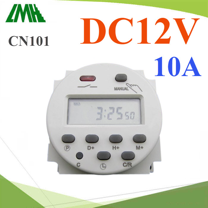 à¤Ã×èͧµÑé§àÇÅÒ áºº¹Ò·Õ Time Switch µÑ´Ç§¨Ãä¿ DC 12V  17 â»Ãá¡ÃÁPower Programmable Timer Switch Relay DC 12V  Digital LCD 10A