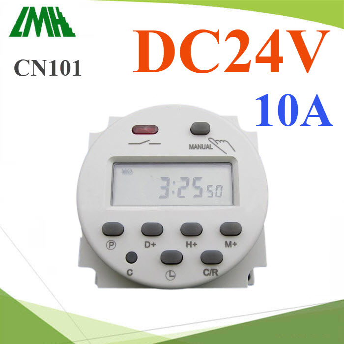 à¤Ã×èͧµÑé§àÇÅÒ áºº¹Ò·Õ Time Switch µÑ´Ç§¨Ãä¿ DC 24V  17 â»Ãá¡ÃÁPower Programmable Timer Switch Relay DC 24V  Digital LCD 10A