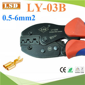 ¤ÕÁÂéÓËÑÇÊÒÂä¿ ÃØè¹ LY-03B ¢¹Ò´ 0.5-6mm2 LY-03B non insulated open barrel terminal power cable crimping tool 0.5-6mm2