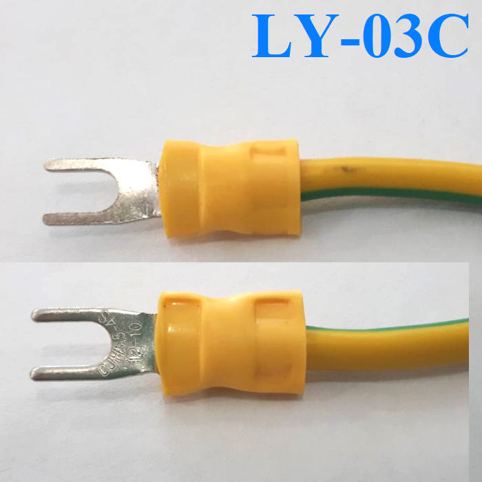 LY-03C Ratchet hand crimping tool for non-insulated open plug-type connectors 0.5-6mm2 crimping