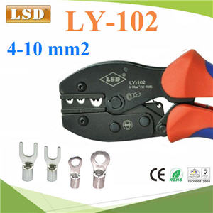 ¤ÕÁÂéÓËÒ§»ÅÒ ÂéÓËÑÇÊÒÂä¿ ÃØè¹ ÃØè¹ LY-102 ¢¹Ò´ 4-10mm²LY-102 for non-insulated cable links Hand Crimping Tool 4.0-10mm2