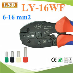 ¤ÕÁÂéÓËÒ§»ÅÒ ÂéÓËÑÇÊÒÂä¿ ÃØè¹ LY-16WF wire-end ¢¹Ò´ 6-16mm2 10-5AWGLY-16WF crimping tools for wire-end ferrules manual crimping pliers useful cable crimping tools pipe