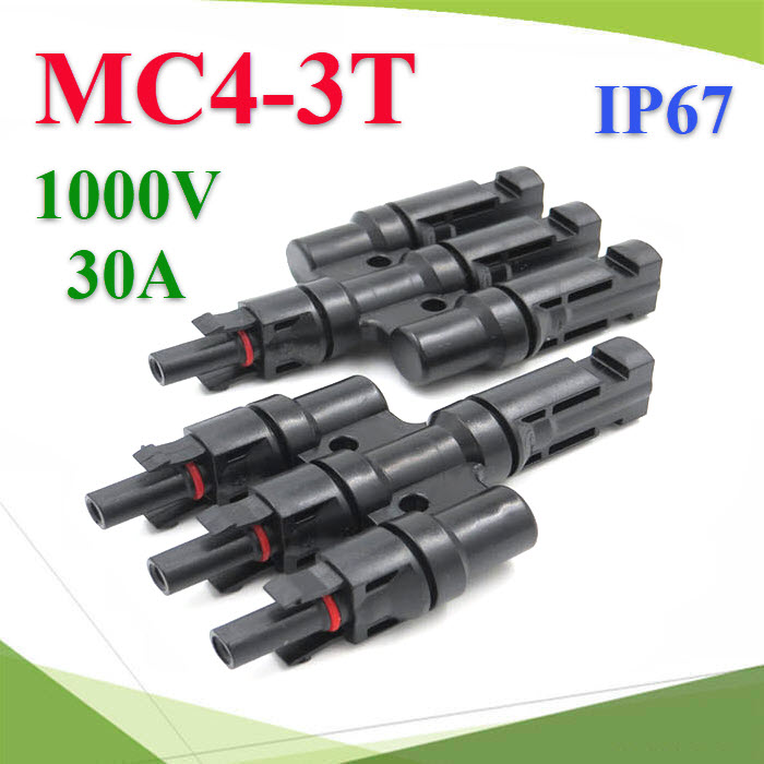 PV connector MC4 solar connector 3 to 1