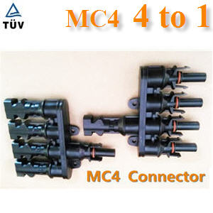 ¢é͵èÍÊÒÂä¿ MC4 µèÍ¢¹Ò¹ 4 àÊé¹ÃÇÁà»ç¹ 1 àÊé¹PV connector MC4 solar connector 4 to 1
