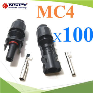 ¢é͵èÍÊÒÂä¿ MC4 ÊÓËÃѺÊÒÂä¿ PV1-F ¡Ñ¹¹éÓ IP67 30A  ( ᾤ 100 ¤Ùè )High quality TUV 30A 1000V male and female solar connector MC4 100 pairs