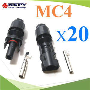 ¢é͵èÍÊÒÂä¿ MC4 ÊÓËÃѺÊÒÂä¿ PV1-F ¡Ñ¹¹éÓ IP67 30A  ( ᾤ 20 ¤Ùè )High quality TUV 30A 1000V male and female solar connector MC4 20 pairs