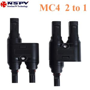 ¢é͵èÍÊÒÂä¿ MC4 µèÍ¢¹Ò¹ 2 àÊé¹ÃÇÁà»ç¹ 1 àÊé¹PV connector MC4 solar connector 2 to 1