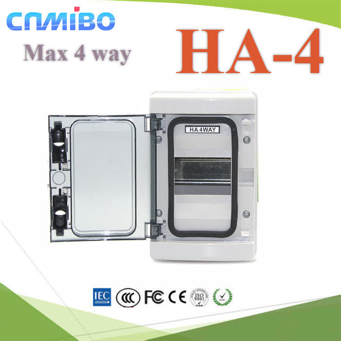 ¡ÅèͧàºÃ¤à¡ÍÃì¾ÅÒʵԡ ¤Ø³ÀÒ¾ÊÙ§ HA 4 ªèͧ Ẻ¡Ñ¹¹éÓ IP65High quality HA Series 4 ways electrical power distribution box waterproof IP65