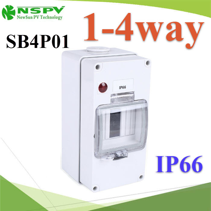¡ÅèͧàºÃ¤à¡ÍÃì ¢¹Ò´àÅç¡ 1-4 ªèͧ Ẻ¡Ñ¹¹éÓ IP66High quality Series 1-4 ways electrical power distribution box waterproof IP66