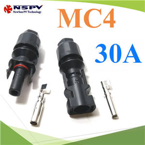 ¢é͵èÍÊÒÂä¿ MC4 ÊÓËÃѺÊÒÂä¿ PV1-F ¡Ñ¹¹éÓ IP67 30A  1.5-6 Sq.mmHigh quality TUV 30A 1000V male and female solar connector MC4 for solar system detachable