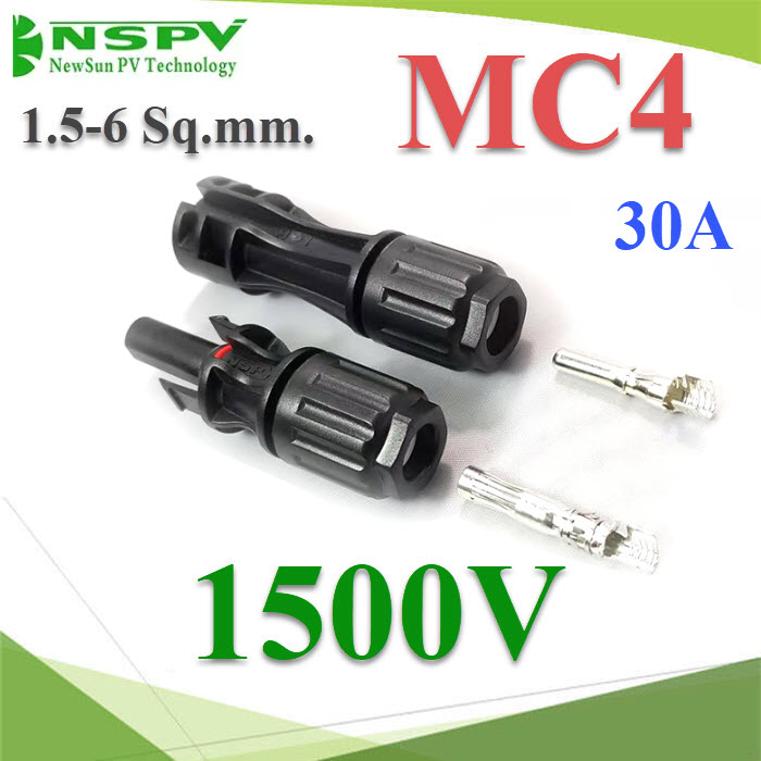 ¢é͵èÍÊÒÂä¿ MC4 ÊÓËÃѺÊÒÂä¿ PV1-F ¡Ñ¹¹éÓ IP67 1500V  1.5-6 Sq.mmHigh quality TUV 30A 1500V male and female solar connector MC4 for solar system detachable