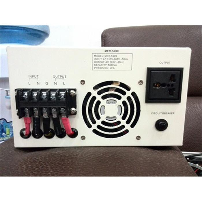 AVR 5000VA Automatic Voltage Regulator Stabilizer Single Phase with toroidal transformer