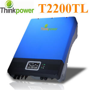 ¡ÃÔ´ä· ÍÔ¹àÇÍÃìàµÍÃì ThinkPower ÃØè¹ T2200TL2.2KW PV grid inverter Single phase