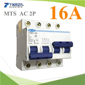 àºÃ¡à¡ÍÃìÊÇÔ·ªì 2 ·Ò§ MTS Ãкºä¿ AC MCB 50HZ 2P 16A2P 16A MTS Dual power switch Manual transfer switch Circuit breaker MCB 50HZ/60HZ 400~