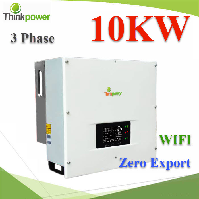 ¡ÃÔ´ä· ÍÔ¹àÇÍÃìàµÍÃì ThinkPower ÊÓËÃѺŴ¤èÒä¿ 10000W  3 phase ÁÕÃкº WIFI  10.0KW Three phase PV grid connected inverter IP65 Build in WIFI monitoring Dual MPPT