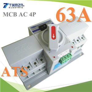 63A 4P àºÃ¡à¡ÍÃìÊÇÔ·ªì 2 ·Ò§ AC ÊÅѺä¿Íѵâ¹ÁÑµÔ Automatic transfer switch4P 63A 230V MCB type Dual Power Automatic transfer switch ATS