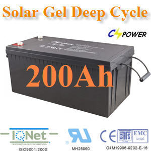 Battery 12V 200Ah ẵàµÍÃÕèâ«ÅÒÃìà«ÅÅì Solar GEL Deep Cycle Battery 12V 200Ah Solar GEL Deep Cycle Battery