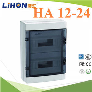 ¡ÅèͧàºÃ¤à¡ÍÃì ¤Ø³ÀÒ¾ÊÙ§ HA 12-24 ªèͧ Ẻ¡Ñ¹¹éÓ IP65High quality HA Series 12-24 ways electrical power distribution box waterproof IP65