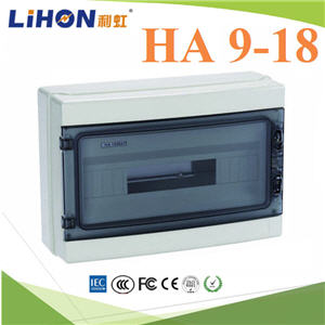 ¡ÅèͧàºÃ¤à¡ÍÃì ¤Ø³ÀÒ¾ÊÙ§ HA 9-18 ªèͧ Ẻ¡Ñ¹¹éÓ IP65High quality HA Series 9-18 ways electrical power distribution box waterproof IP65
