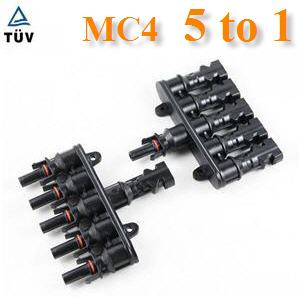 ¢é͵èÍÊÒÂä¿ MC4 µèÍ¢¹Ò¹ 5 àÊé¹ÃÇÁà»ç¹ 1 àÊé¹PV connector MC4 solar connector 5 to 1