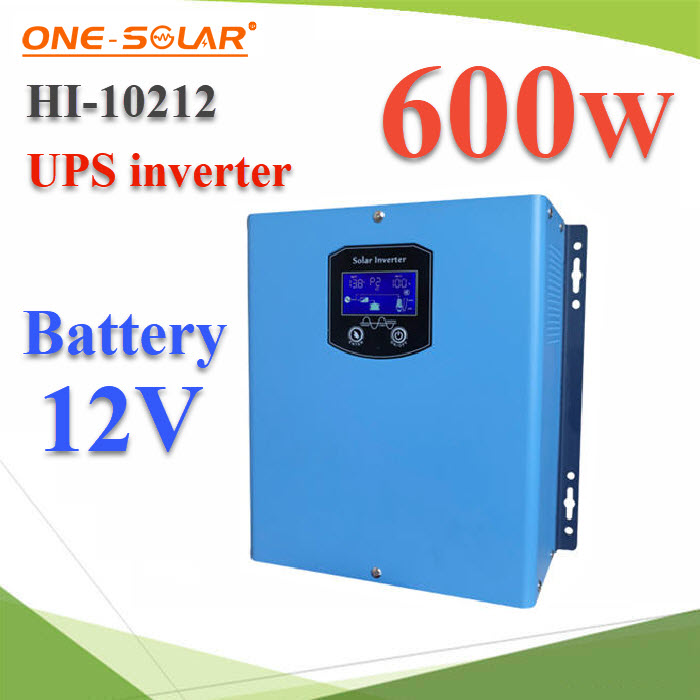 UPS ÍÔ¹àÇÍÃìàµÍÃì ÊÓÃÍ§ä¿ Pure sine wave 600W Input Battery 12VInverter UPS 600W 12VDC low frequency pure sine wave with AC charger.