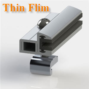 µÑǨѺÂִἧÊØ´·éÒ ÊÓËÃѺἧ Thin Film ˹һÃÐÁÒ³ 6 mmAdjustable End Clamp Thin Film